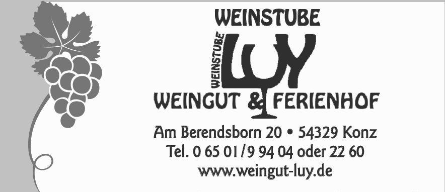 Weinstube Luy, Konz