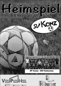 """Stadionzeitung """"Heimspiel"""""""