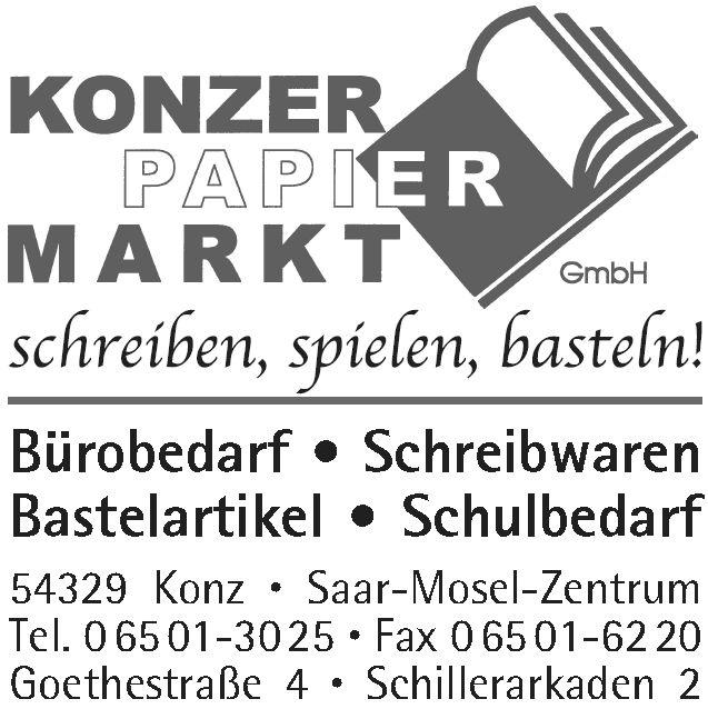 Konzer Papiermarkt