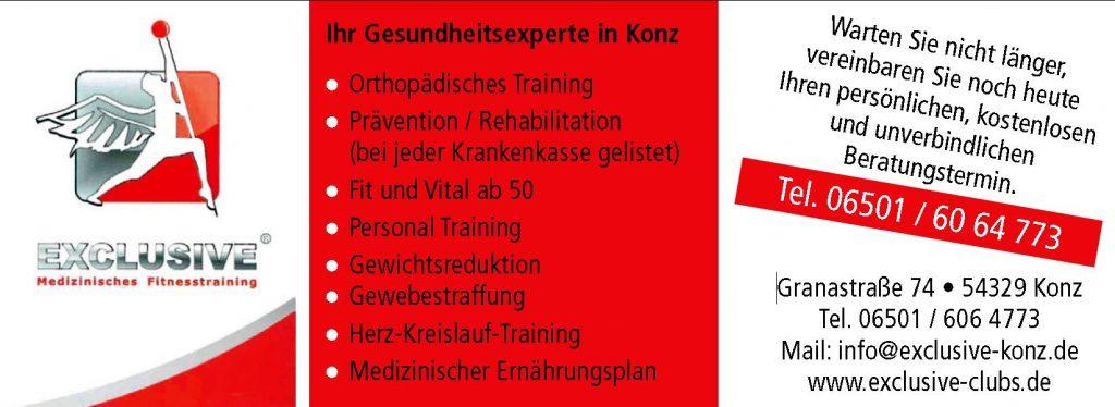 EXCLUSIVE Gesundheitsexperten, Konz