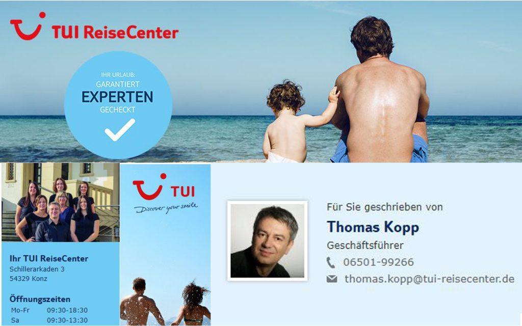 TUI-Reisecenter Kopp, Konz